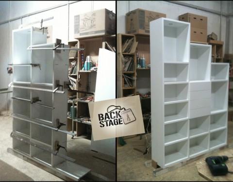 Libreria sottoscala polivalente/Under-stair bookcase